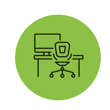 Flexible Desk Space